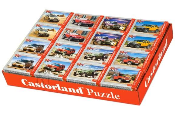Castorland Puzzle 54 M mini. Jeep