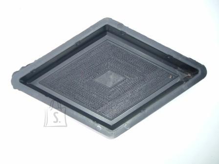 PLASTVORM  ROMB MUSTRIGA  19x33x4,5cm 10/3