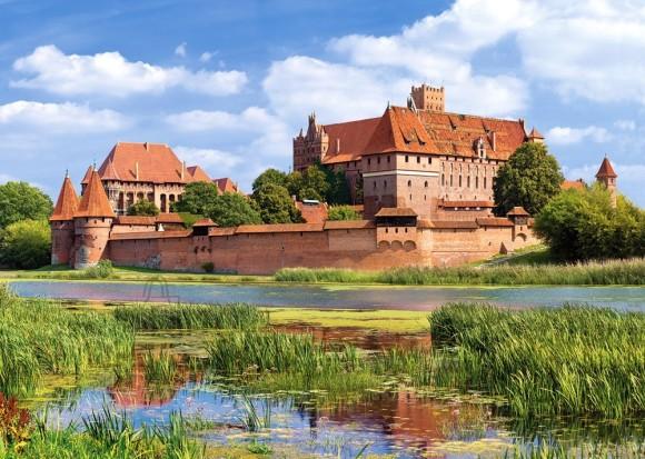 Castorland Puzzle 3000 Malborki loss, Poola 300211
