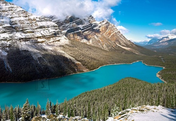 Castorland Puzzle 1500 Peyto järv, Banff, Kanada 150922