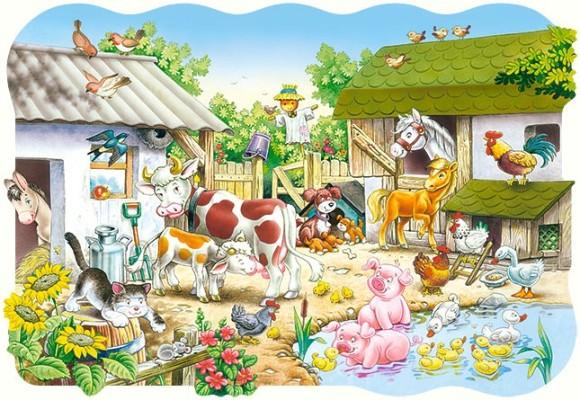 Castorland Puzzle 20 Farm 02122