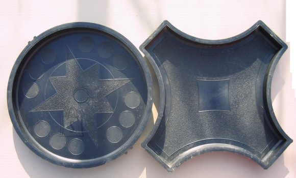 50/1 & 50/3 PLASTVORMID RING+RIST RINGILE  49 ja 61cm kõrgus 4,5cm