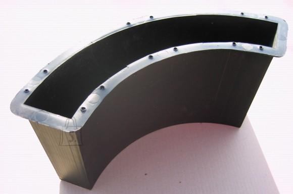 82/3a  PLASTVORM ÄÄREKIVI ÜMAR NURK 41x6,7cm kõrgus 20,5cm