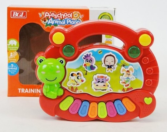 7777. KLAVER PRESCHOOL ANIMAL PIANO