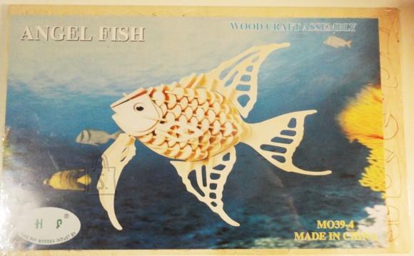 8007. 3D PUITPUZZLE KALA ANGEL FISH MO39-4