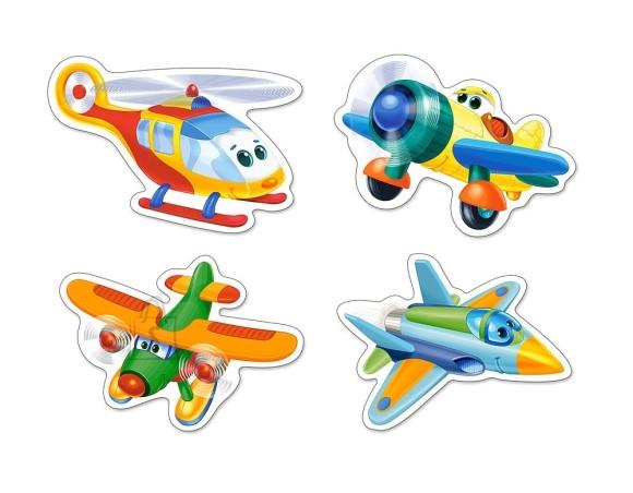 Castorland Puzzle 4 pilti (3+4+6+9) Funny Planes 005048