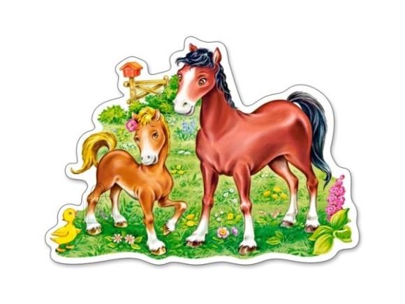 Castorland Puzzle 15 A Little Beautiful Foal 015023