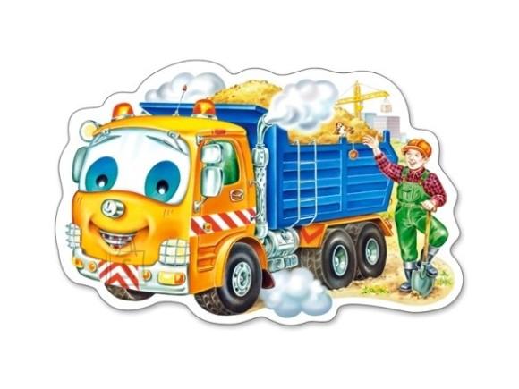 Castorland Puzzle 15 Little Sand Truck 015061