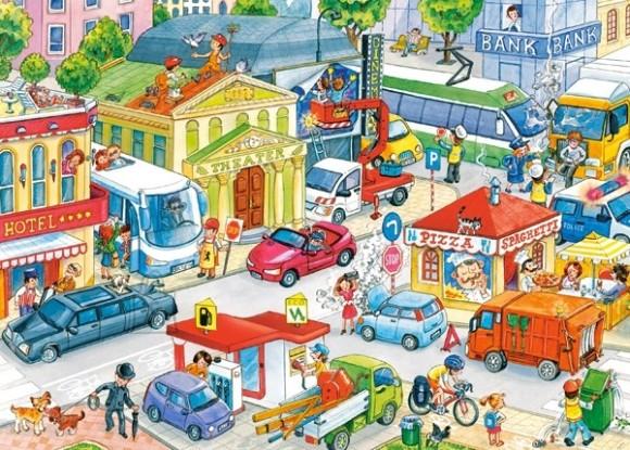 Castorland 035137. Puzzle 35 City Center