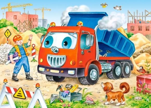 Castorland 035144. Puzzle 35 Tipper Truck