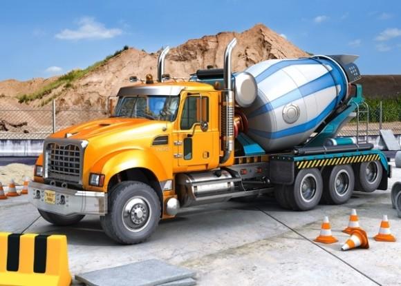Castorland 007110. Puzzle 70 Truck Mixer