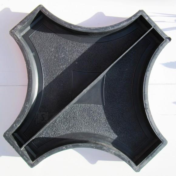 50/5 PLASTVORM RIST RINGILE (2 poolikut)  61cm kõrgus 4,5cm