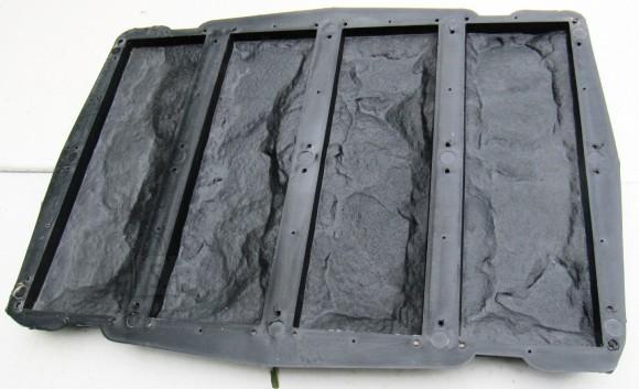 52/12 PLASTVORM 4 KATTEPLAADILE PAEKIVI 7,6x24,8x2cm