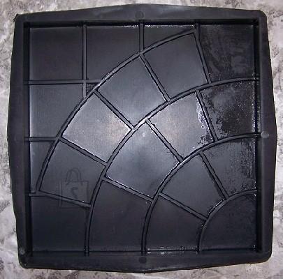71/20 (18/12) PLASTVORM PLAAT 30x30x3cm (kaared,ruudud)