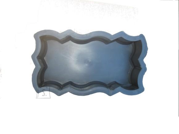 5/3  PLASTVORM KUMERATE ÄÄRTEGA UNIKIVI  23,7x10,3x6cm