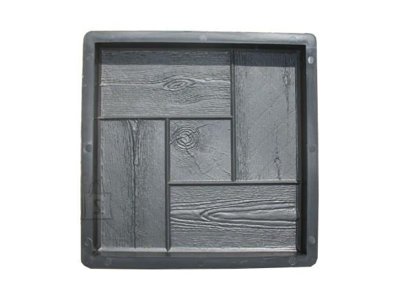 PLASTVORM PLAAT 30x30x3cm (puit,ruut keskel)