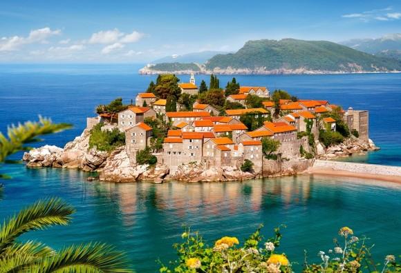 Castorland Puzzle 2000 Sveti Stefan, Montenegro 200580