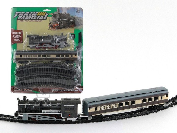 RAUDTEE KOMPLEKT TRAIN FAMILIA 9874