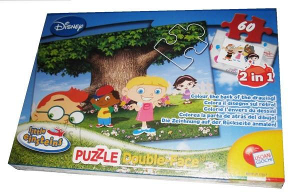 Lisciani Giochi PUZZLE 2in1 60TK LITTLE EINSTEINS 10102