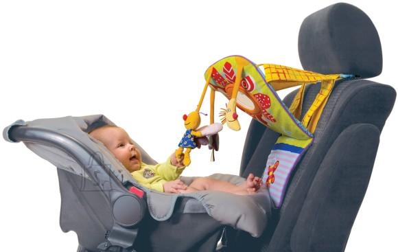 10069. PEEGLI JA PEHMETE MÄNGUASJADEGA PLAAT AUTOISTMELE TAFTOYS