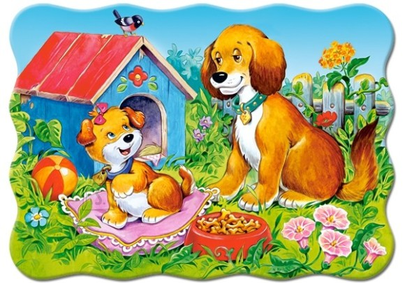 Castorland Puzzle 30 Dogs in the Garden 03549