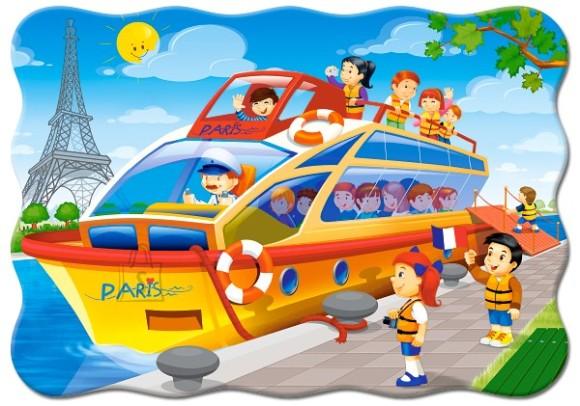 Castorland Puzzle 30 Paris Boat Tour 03624