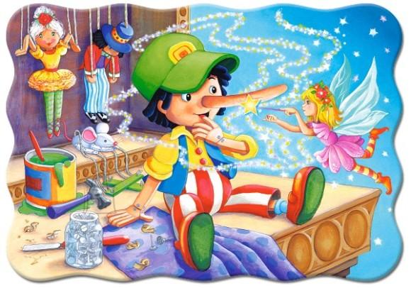Castorland Puzzle 30 Pinocchio 03662