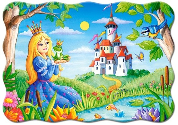 Castorland Puzzle 30 The Princess and the Frog 03679