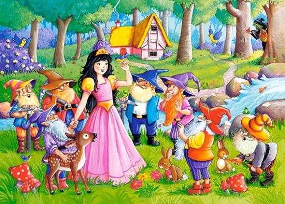Castorland Puzzle 60 Snow White and the Seven Dwarfs 066032