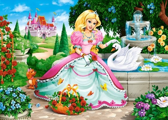 Castorland Puzzle 60 Princess with Swan 066056