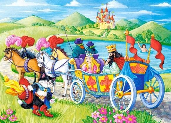 Castorland Puzzle 60 Cat in Boots 066070