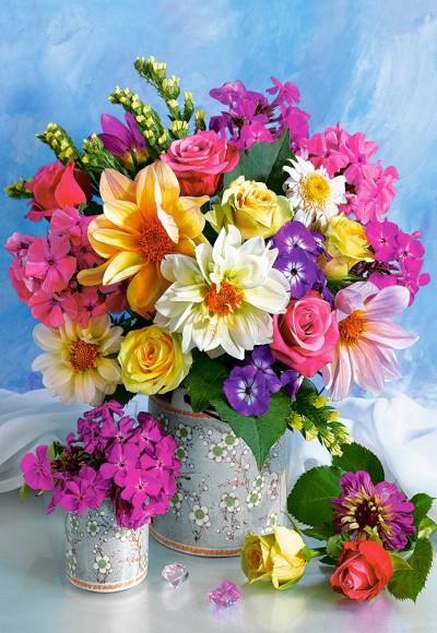 Castorland 151516. Puzzle 1500 Flower Bouquet