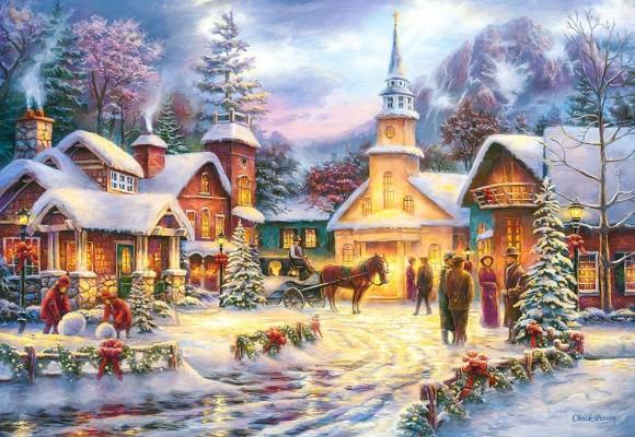 Castorland Puzzle 1500 Faith Runs Deep 151646