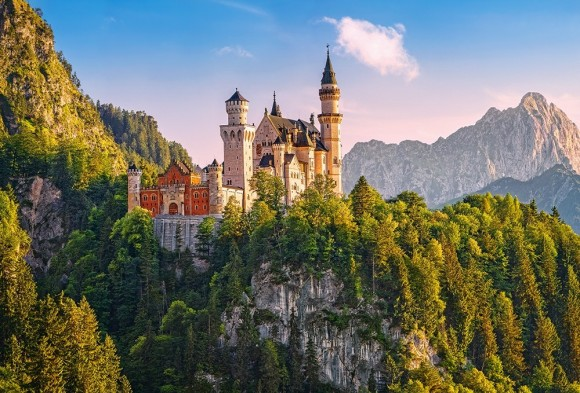 Castorland 103706. Puzzle 1000 Neuschwanstein Castle, Germany