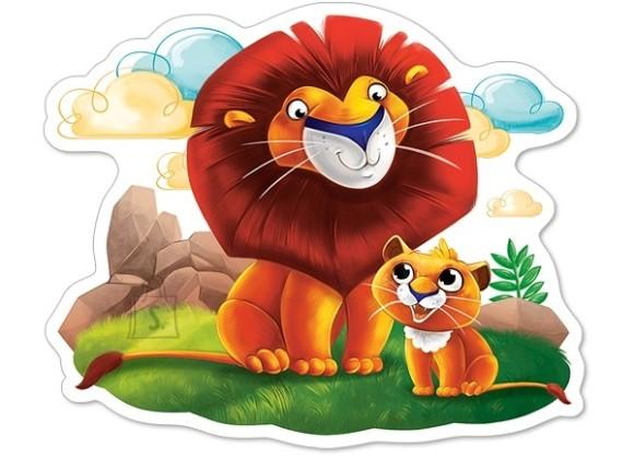 Castorland Puzzle 12 Lion Cub and his Dad 120161