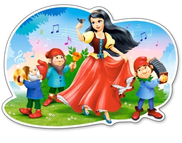 Castorland Puzzle 12 Snow White's Song 120192