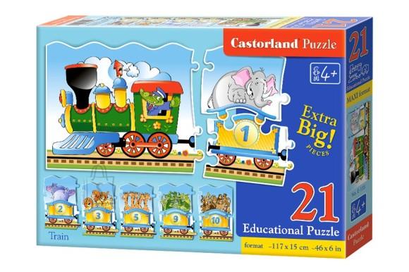 Castorland Puzzlepildid rong numbritega E-135