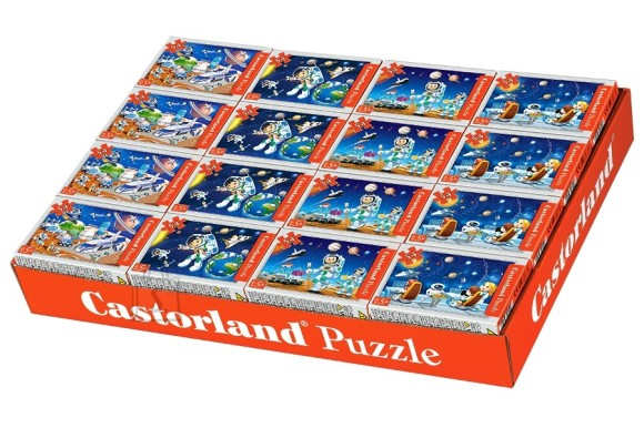 Castorland Puzzle 54 KO mini Kosmos