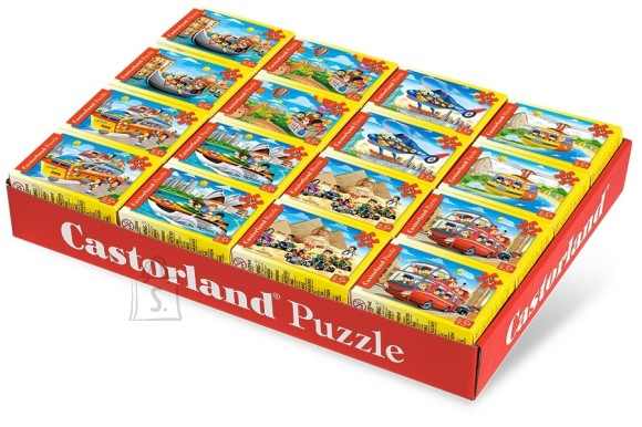 Castorland Puzzle 54 P mini Reisimine s��idukitega