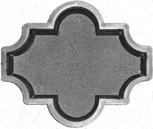 PLASTVORM RISTIKHEIN KROBELINE 26,7x21,8x6cm 1/1k