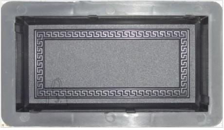 10/4 PLASTVORM  20x10x6cm ORNAMENDIRAAMIGA