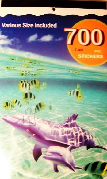 2425. Kleepsuraamat kleepsudega kalad,veeloomad