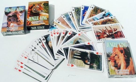 Mängukaardid loomapiltidega Jungle King 2935