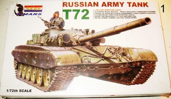 TANKIMUDEL KOKKULIIMITAV 1/72 S-MARS 4750