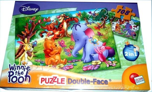 Lisciani Giochi PUZZLE 2in1 108TK WINNIE PUHH 5812