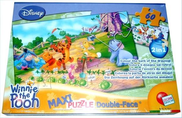 Lisciani Giochi PUZZLE 2in1 60TK MAXI WINNIE PUHH 5816