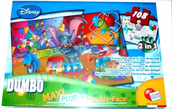 Lisciani Giochi PUZZLE 2in1 108TK MAXI DUMBO 5819