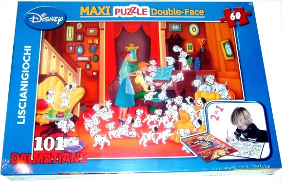 Lisciani Giochi PUZZLE 2in1 60TK MAXI 101 DALMAATSLAST 5824