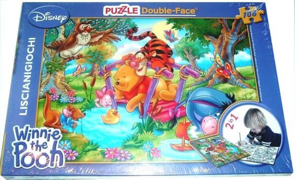 Lisciani Giochi PUZZLE 2in1 108TK WINNIE PUHH 5822