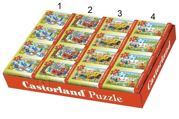 Castorland Puzzle 24 operatiivs��idukid 02405-BP